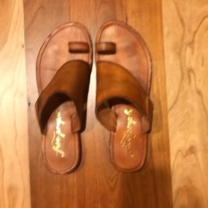 Free People leather sandals - sz 39
